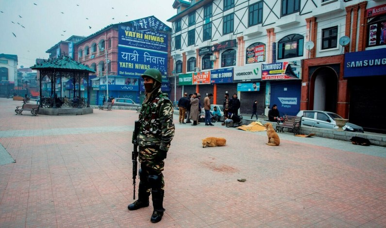 Rumours Spark Near Total Shutdown Across Kashmir