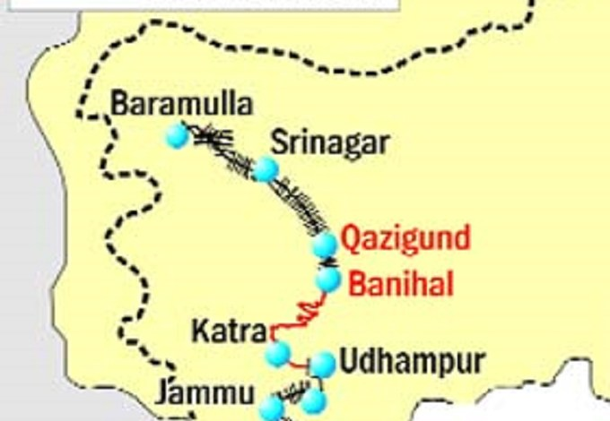 PM Fixes 2020 Deadline For Completion Of Udhampur-Baramulla Rail Link