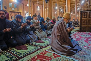 Prayers Offered At Jamia Masjid After 135 Days