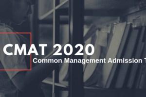 CMAT 2020: Know The Post Exam Procedure