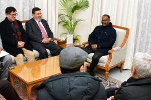Bukhari & Co Meet LG, Seek Statehood
