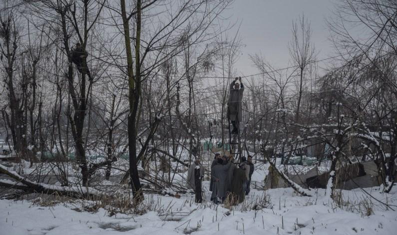 Heaviest Snowfall in 40 Years Paralyses Life In Kashmir