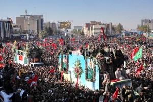 Stampede at Soleimani's Funeral Kills 50