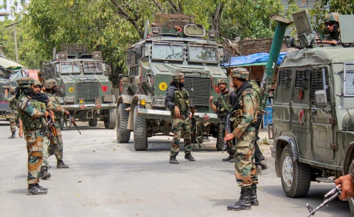 3 Jaish Men Killed, Cop Injured In Jammu Gunfight
