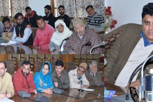 Mehta, Hafeez Take Stock Of Public Grievances In Srinagar