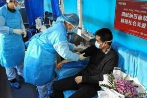 Chinese Doctors 'Using Plasma Therapy' On Coronavirus Patients