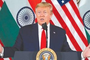 Kashmir A 'Big Problem' Between India And Pakistan: Trump