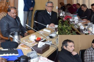 LG Chairs Review Meet On Dal Conservation
