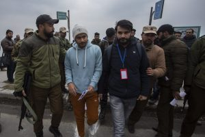 3 Detained For Protesting Against Visit Of Foreign Envoys In Srinagar