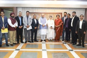 Kashmir Inc Calls On HM Amit Shah