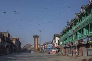 Kashmir Under Lockdown To Combat Covid-19