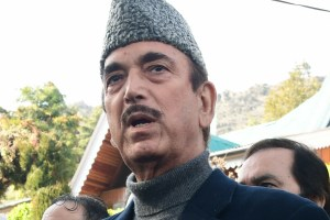 'Agency Created' Parties Can't Run J&K: Azad