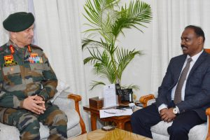 Army's Northern Command Chief Briefs LG On Security Situation