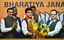 Scindia Joins BJP, Says Country's Future Secure In Modi's Hands
