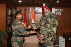 Lt Gen BS Raju Assumes Charge Of 15 Corps
