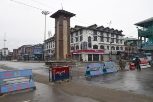 Curbs To Continue In Srinagar, Major Towns Today