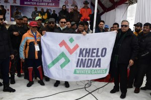 Kiren Rijiju Inaugurates First Ever Khelo India Winter Games At Gulmarg