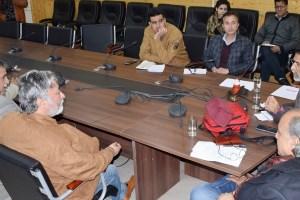 PCI Team Meets Journalists, DIPR Officials