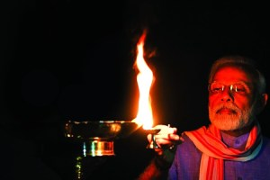 Indians Respond To PM's Appeal, Light Candles