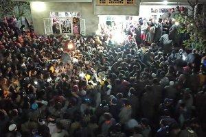 Dozens Held For Attending Militant's Funeral