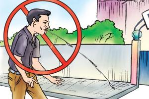 Rs 500 Fine For Spitting in Public Places, Not Wearing Face Mask