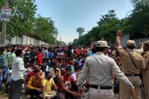 Migrant Workers Ransack Mill In Kathua