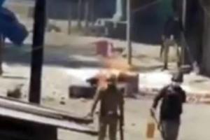 Video Shows Cops 'Vandalising' Budgam Shops