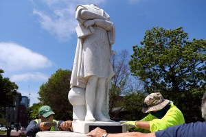 Not Set In Stone: Statues Fall As Europe Reexamines Its Past