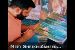 Kashmiri Artist's 'Canvas Therapy'