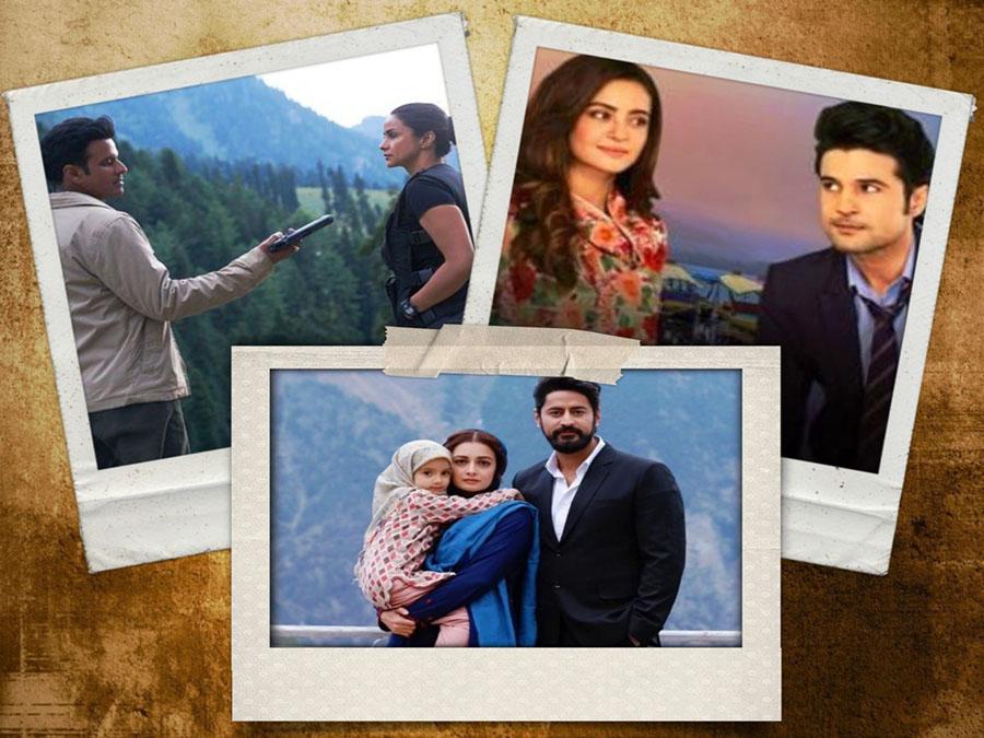 Kashmir in Web Series