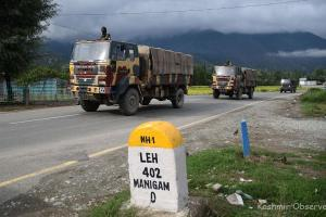 Ladakh Escalation: Leh Highway Closed For Civilian Traffic