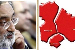 Drabu's Trifurcation Pitch: 'Kashmir Gone, What Would Be Left of Jammu?'