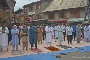 Muted Eid In Kashmir Amid Covid Fear, Curbs