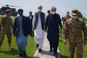 Pak Foreign, Defence Ministers Visit LoC