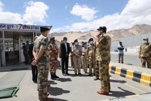 CISF Takes Over Leh Airport Security
