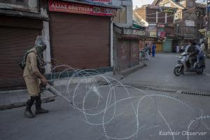 Kashmir Locked Down On August 5 Anniversary