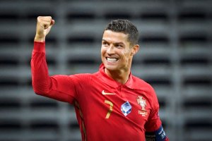 Cristiano Ronaldo Scores 100th Goal For Portugal