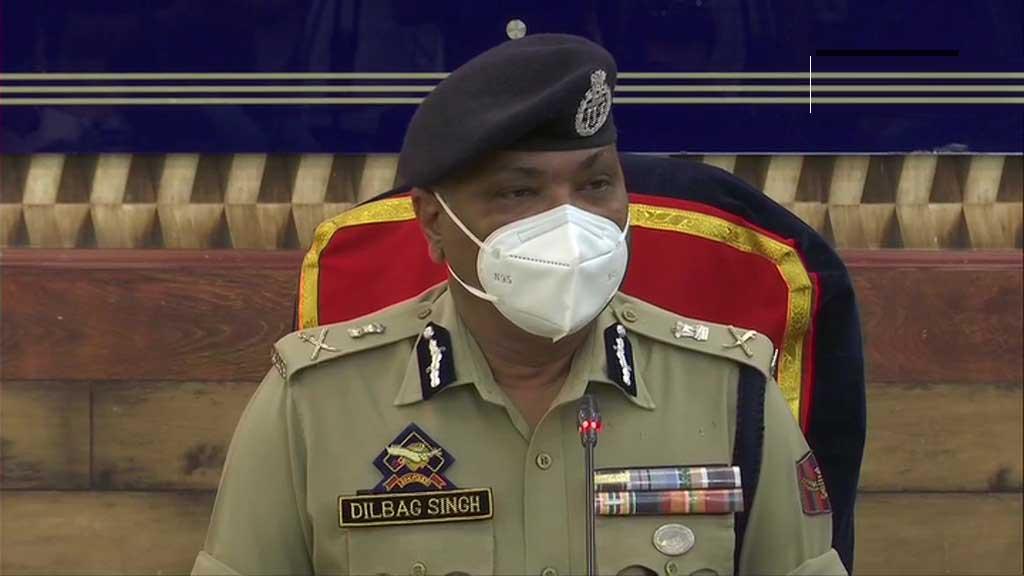 All 3 Militants Killed In Srinagar Locals From South Kashmir: DGP