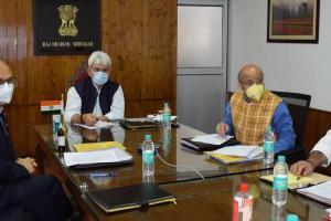 LG Sinha Inaugurates SCERT