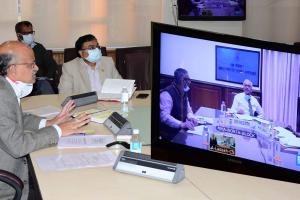 Meeting Discusses Distribution of Assets, Liabilities Between JK, Ladakh