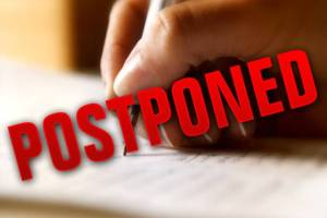 Examination of 12th Class First Paper Postponed