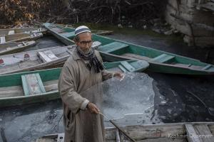 Srinagar Freezes At Minus 5.9 Degree Celsius