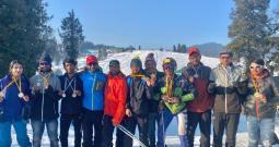 DPS Srinagar Shines At District Skiing Championship