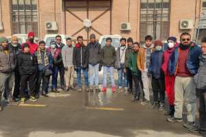 First Introductory Ski Course For Non-J&K Boys Begins At Gulmarg