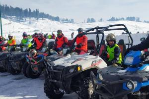 New Year Begins with Multiple Snow Racing Events at Gulmarg