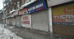 Gaw Kadal Anniversary: Lal-Chowk, Adjoining Areas Observe Shutter Down