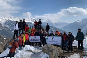 All JK Mountaineering Foundation And Crampons Adventures Hold Trek