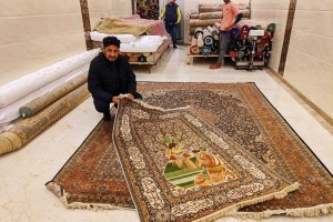 KASHMIR In Capital: Carpet Chronicle of 'Russian King'