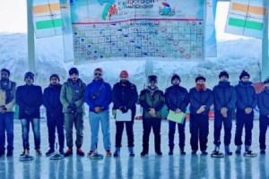 J&K Wins National Icestock Sports Championship 2020-21 At Gulmarg