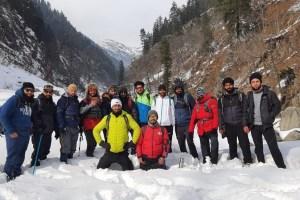 JK Mountaineering Foundation Organises Trekking To Dumail-Marchoi